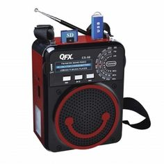 QFX Portable PA System with USB/Micro-SD, AM/FM/SW Radio-Red (CS-98-RED)  http://www.giftgallore.com/product/88216_m/216_/QFX-Portable-PA-System-with-USB-Micro-SD-AM-FM-SW-Radio-Red-5284088216M.html