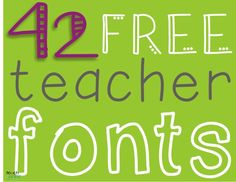 Free Fonts (Great website)