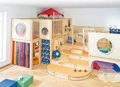 Basisraum - Gruppenräume - Raumkonzepte - Kinder unter 3 - Wehrfritz GmbH