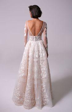 Blake Wedding Dress & Michal Medina Designing Wedding Dresses is part of Wedding dress trends - Rustic Wedding Dresses, Wedding Dress Trends, Dream Wedding Dresses, Wedding Bells, Bridal Dresses, Gown Wedding, Modest Wedding, Wedding Ideas, Lace Wedding