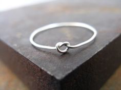 I love how simple this ring is.