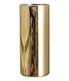 Check this out! Cylindrical glass vase with a painted exterior. Diameter 3 in., height 7 in. - Visit hm.com to see more.