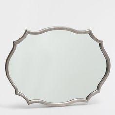 Oval shaped mirror - MIRRORS - DECORATION   Zara Home United Kingdom