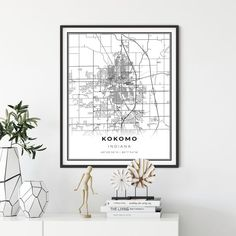 Milwaukee Map Print Wisconsin WI USA Map Art Poster City Street Road Map Wall Decorgift for grandparents gift coworker by NordicCollection Map Wall Decor, Map Wall Art, Office Wall Decor, Map Art, Room Decor, Milwaukee Map, Illinois, Denmark Map, Poster City
