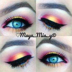 Everyday blogs: Day two: Eye makeup ideas