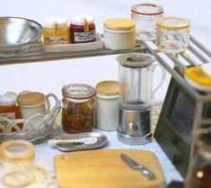 *キッチン雑貨続き* - *Nunu's HouseのミニチュアBlog*           1/12サイズのミニチュアの食べ物、雑貨などの制作blogです。
