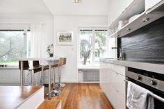 Дизайн квартиры-студии 30 м в Стокгольме