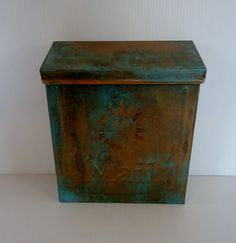 Hey, I found this really awesome Etsy listing at https://www.etsy.com/listing/150170964/copper-verde-patina-indoor-outdoor-wall