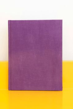 Sam Falls - Val Verde  Special Hardcover Edition  SIGNED AND NUMBERED  EDITION OF 30, 10 PURPLE, 10 YELLOW, 10 ORANGE  7¾ X 10 INCHES (19½ X 25 CM)  KARMA, NEW YORK, NY, 201