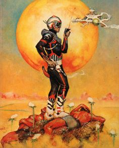 11200:  The Gods of Xuma, or Barsoom Revisited (1978) Cover art by Don Maitz