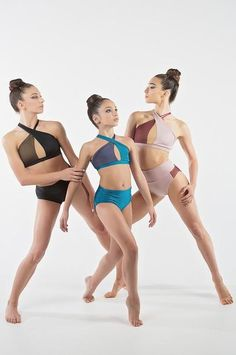 Gorgeous dancewear options for class or stage.