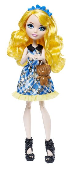 Amazon.com: Ever After High Enchanted Picnic Blondie Lockes Doll: Toys & Games
