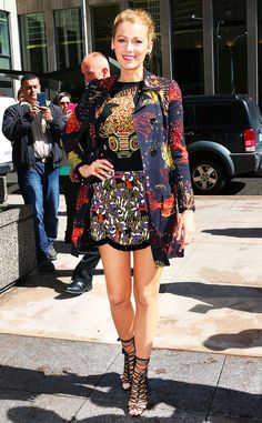 Blake Lively rocks the cutest flirty fish outfit we've ever seen!