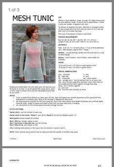 Summer Sweaters, Tunic Pattern, Crochet Patterns, Vest, Knitting, Knits, Shopping, Crochet Chart, Tricot