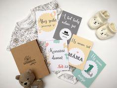Milníkové kartičky pro miminko Mamma Mia, Baby Milestone Cards, Baby Milestones, Place Cards, Place Card Holders, Toddler Milestones