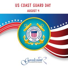 US Coast Guard Day. Today is set aside to celebrate and honor the courageous work of the US Coast Guard. Unusual Holidays, Wacky Holidays, Coast Guard Wife, Crystal Awards, Merchant Marine, 3d Laser, Military Life, Crystal Gifts, Chicago Cubs Logo