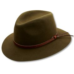 Featuring a croc brown leather strap on the brim as well as a comfortable  inner lining. e1cc0154c744