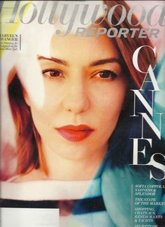 Sofia Coppola Hollywood Reporter May 2013 Business of Cannes Jerry Weintraub