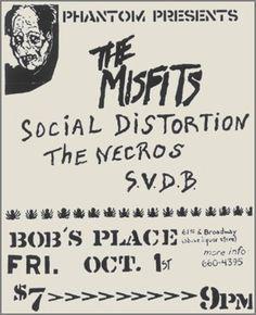 Misfits - Social Distortion - Necros