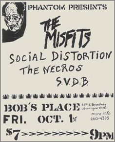 Misfits - Social Distortion - Necros