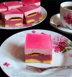 "Ciasto ""Fiona"" - Przepis - Słodka Strona Best Cookie Recipes, Cake Recipes, Dessert Recipes, Cookie Pie, Sweets Cake, Polish Recipes, Party Treats, Food Cakes, Homemade Cakes"