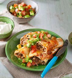 Turkey enchiladas recipe - Better Homes and Gardens - Yahoo!7