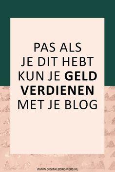 Make Money Blogging, Make Money Online, How To Make Money, Blog Writing Tips, Blog Tips, Affiliate Marketing, Online Marketing, Online Shops, Social Media Tips
