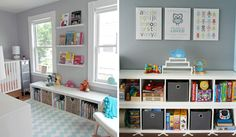 Project Nursery - Nursery Cubby Storage - Project Nursery