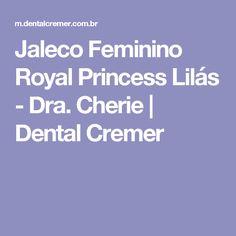Jaleco Feminino Royal Princess Lilás - Dra. Cherie | Dental Cremer