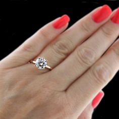 Mia Donna - Tiffany Solitaire diamond ering