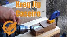 O Kreg Jig Caseiro é uma das ferramentas mais pedidas do canal então hoje eu trago uma versão bem simples é fácil de fazer. Para chegar até esse formato fiz ...