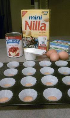 Nilla Wafer Cheesecake Recipe! #NillaWafer, #cupcake, #cheesecake