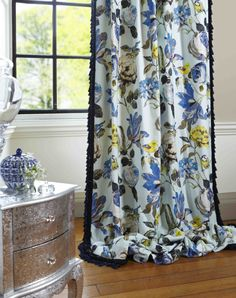 photo of Country Garden Summer in situ Lined Curtains, Curtains With Blinds, Sheer Curtains, Curtain Fabric, Pelmets, Pencil Pleat, Made To Measure Curtains, Window Coverings, Soft Furnishings