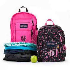 Embroidered JanSport® Superbreak Backpacks , Add a Monogram, Name or Initials