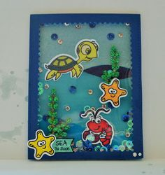 El Scrap de Cris y Noe: Sea ya soon Card