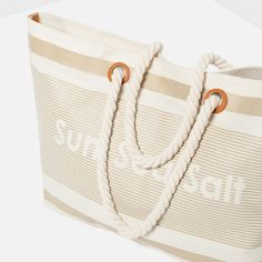 Shopping Selection - FABRIC BEACH TOTE from Zara