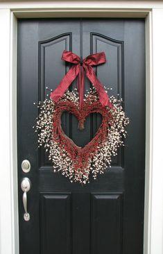 valentine wreath