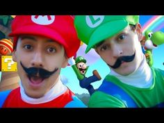 Wii U - New Super Mario Bros MUSICAL. Love the tapping in this video!