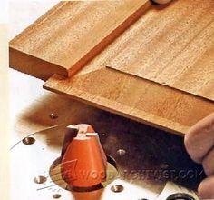 Making Raised Panels - Cabinet Door Construction Techniques   WoodArchivist.com