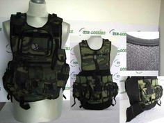 Veste Tactique camo + protection  #airsoftgunspistoletabilles #protectionmasquesplastrons #vestetactiquecamo