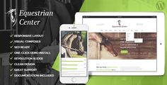Equestrian Centre & Horse-riding School WP Theme .    CURRENT VERSION 1.3 (see Change log at the bottom of this