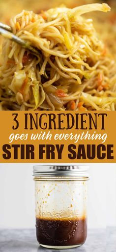 Easy and versatile homemade stir fry sauce recipe – perfect for making takeout style dinners at home! Easy and versatile homemade stir fry sauce recipe – perfect for making takeout style dinners at home! Asian Recipes, New Recipes, Vegetarian Recipes, Cooking Recipes, Favorite Recipes, Healthy Recipes, Recipies, Cooking Sauces, Vegetarian Appetizers