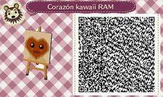 Este es un QR Code para Animal Crossing, creado por mí; como podéis observar, es un corazón kawaii, con un color marrón. [6-18]  Lo podéis encontrar en mi canal de YouTube: https://www.youtube.com/channel/UCh6uwa2CjSgR4WQ-ghRQY6Q (Roxy).  ¡Espero qué os guste! ;)