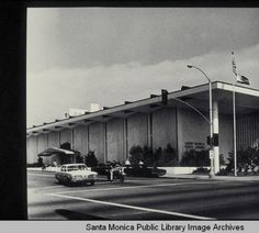 Santa Monica Public Library Main Library building, 1965 Main Library, People Of Interest, Vintage Santas, Santa Monica, Old Photos, Childhood Memories, Venice, 1970s, Past