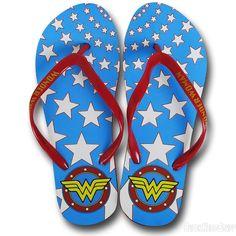 Wonder Woman Star Women's Flip Flops