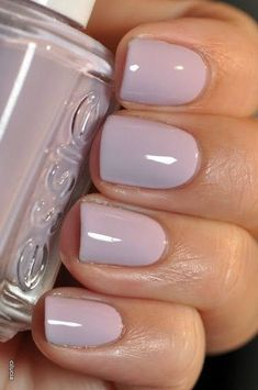 A manicure is a cosmetic elegance therapy for the finger nails and hands. A manicure could deal with just the hands, just the nails, or Love Nails, How To Do Nails, Fun Nails, Pretty Nails, Essie Nail Polish, Nail Polish Colors, Nail Nail, Nail Colors For Pale Skin, Shellac Nails