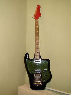 #Electric #guitar tonika soviet ussr #vintage rare, View more on the LINK: http://www.zeppy.io/product/gb/2/172303104468/