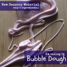 Creative Playhouse: Bubble Dough