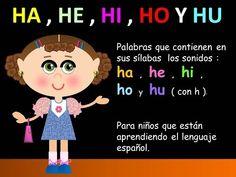 HA , HE , HI , HO Y HU EN LAS PALABRAS - LECCIONES PARA NIÑOS - ESPAÑOL PARA TODOS - YouTube