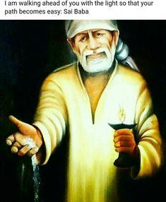 OM SAI RAM Morning Wishes Quotes, Indian Spirituality, Saints Of India, Sai Baba Pictures, Sai Baba Quotes, Baba Image, Sathya Sai Baba, Happy Birthday Love, Hindu Mantras